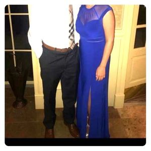 Royal blue wedding guest dress!! Worn once!!